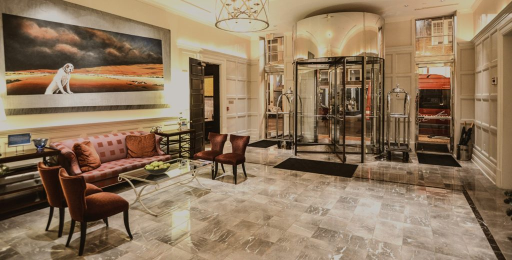 alluvian lobby