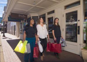 girls getaway shopping